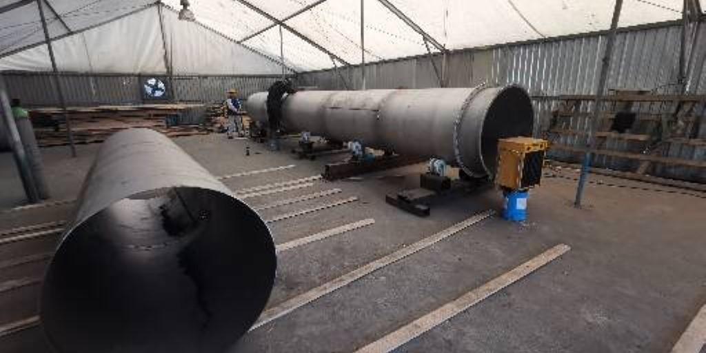 Offshore scrubber parts